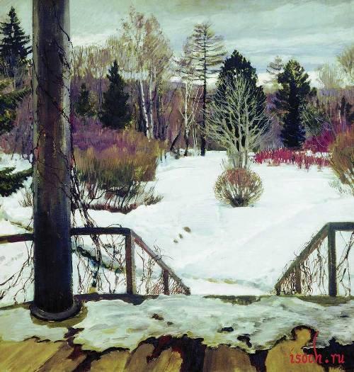 Картина С.А. Виноградова «Весна идет»