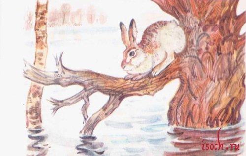 Картина А. Комарова «Наводнение»