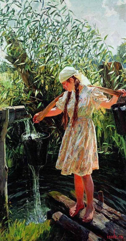 Картина А.А. Пластова «Полдень»