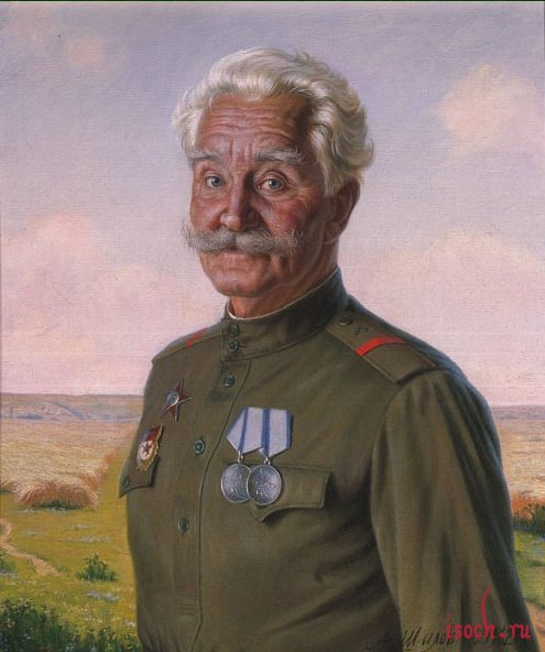 Картина А.М. Шилова «Непобедимый»