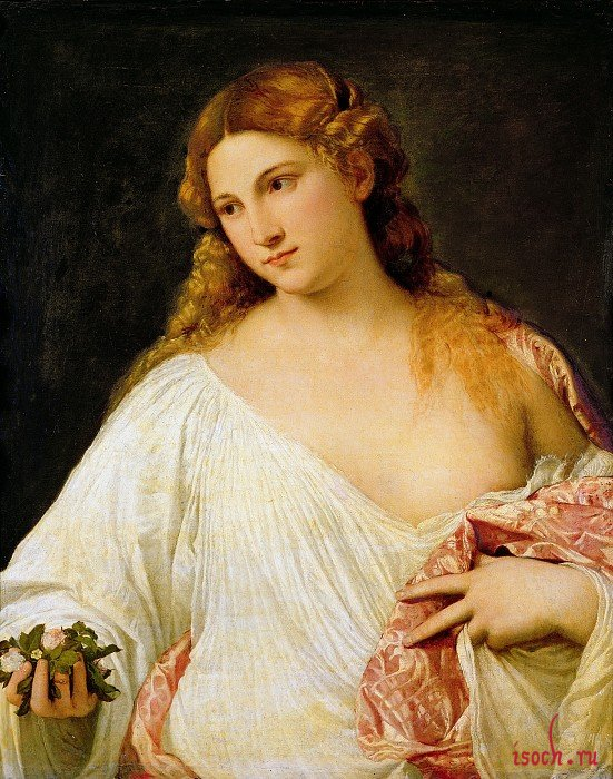 Картина Тициана «Флора»