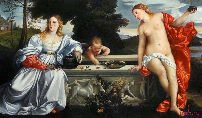 Картина Тициана «Любовь Небесная и Любовь Земная»