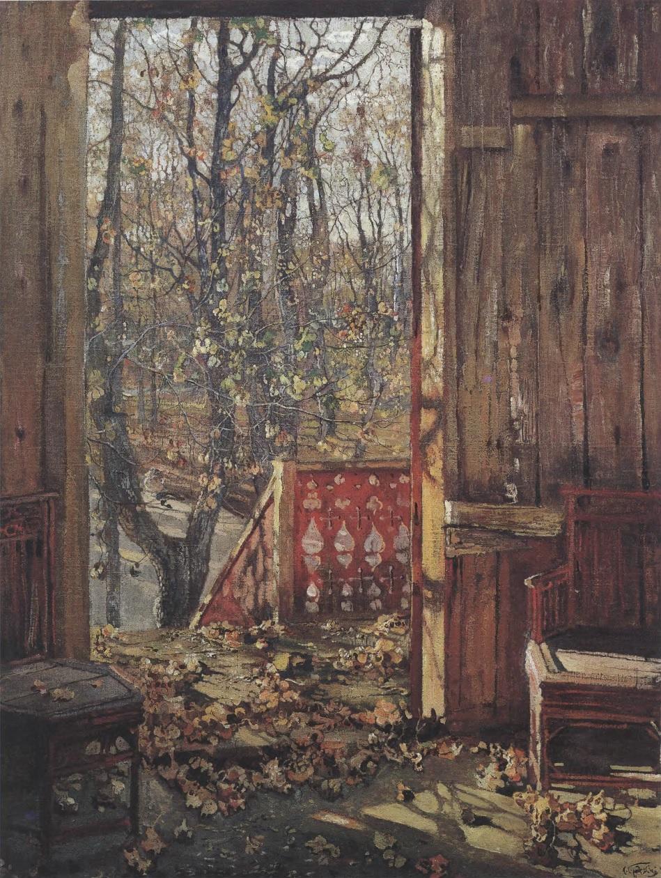 Картина И.И. Бродского «Опавшие листья»