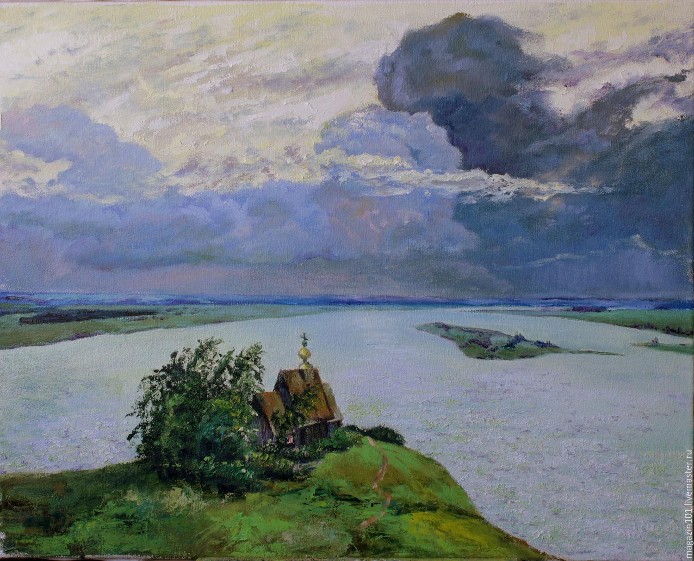 Картина И.И. Левитана «Над вечным покоем»