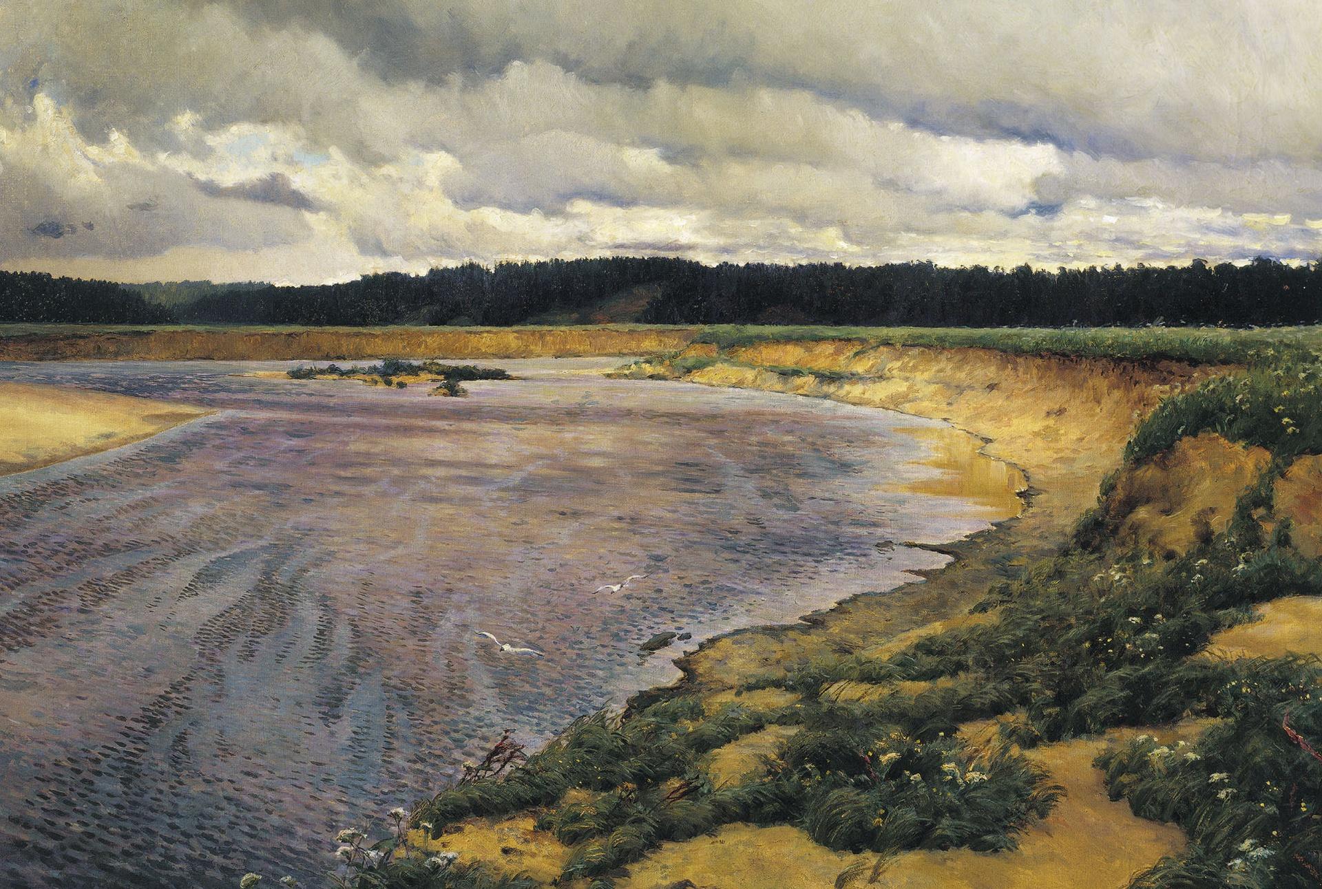 Картина Остроухова И.С. «Сиверко»