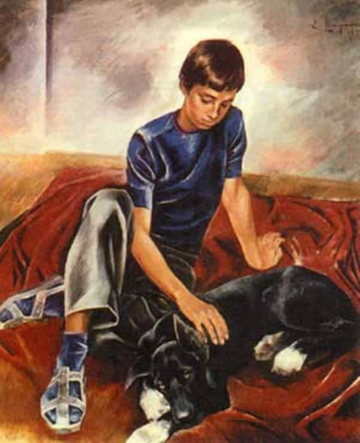 Картина Широкова Е.Н. «Друзья»