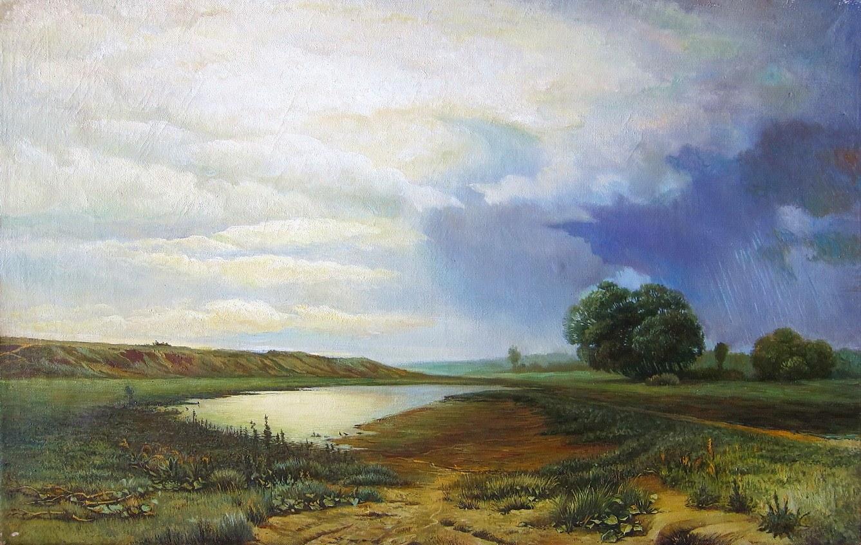 Картина Ф. Васильева «Мокрый луг»