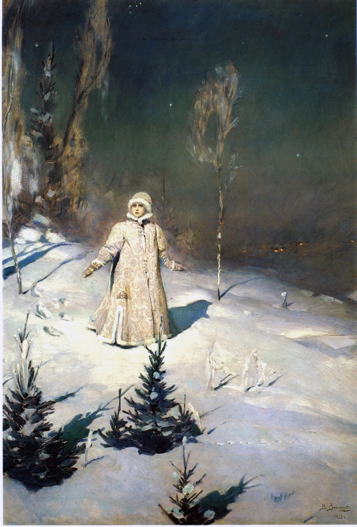 Картина В.М. Васнецова «Снегурочка» (2 вариант)