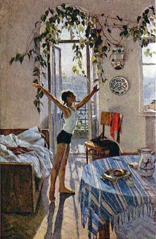Картина Яблонский Т.Н. «Утро» (2 вариант)